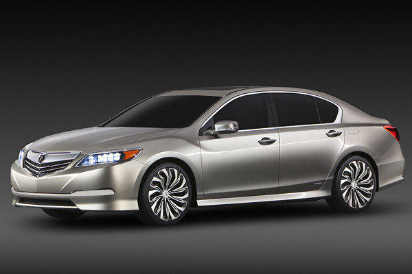 The 2014 Acura RLX sedan will make its debut at the 2012 L.A. Auto Show in November.