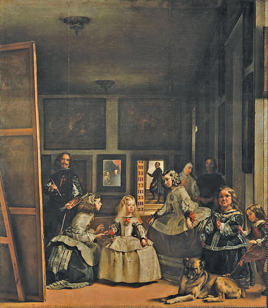 "Diego Velázquez painted his masterpiece, ""Las Meninas,"" in 1656."