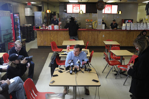 Senator elect Chris Murphy went to Capitol Lunch in New Britain to continue a tradition of going to the restaurant after an election win. Murphy beat Linda McMahon for the U.S. Senate seat.