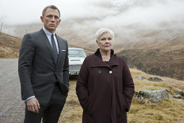 "Daniel Craig and Judi Dench in ""Skyfall,"" the latest installment of the James Bond franchise."
