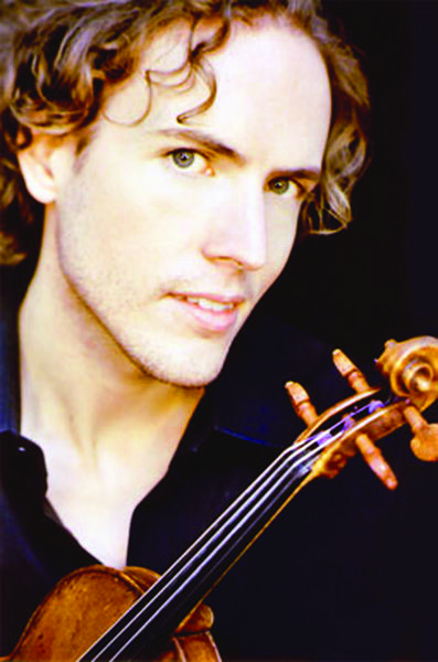 Tim Fain is the featured soloist in the Maryland Symphony Orchestras Masterworks concert this weekend.