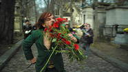 """Holy Motors,"" an exuberant jape as well as a beautiful ode to the movies, to play-acting and to Paris, comes from the French writer-director Leos Carax, re-teaming here with actor Denis Lavant. Lavant got robbed at the Cannes Film Festival this year, losing the best actor award to Mads Mikkelsen (""The Hunt""). Now you can find out why I think this is so."