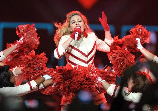 Madonna tells a Minnesota audience that she asked Lady Gaga to join her in song, and was rebuffed.