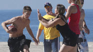 Beach football in stride with SoCal lifestyle