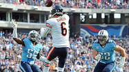 Jay Cutler could give the Bears an edge in nearly every game the remainder of this season.