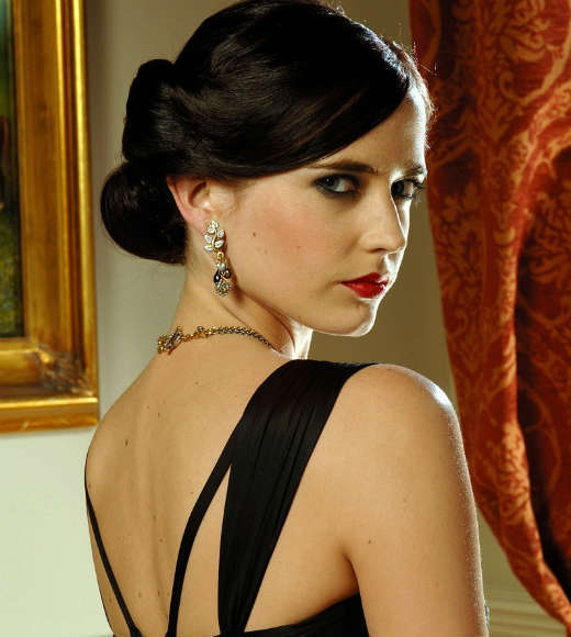 "<b>The movie:</b> ""Casino Royale""<br> <b>The actress:</b> Eva Green<br> <b>Character type:</b> Icy, no-nonsense Treasury Department representative who has Bond's number<br> <b>Cringeworthy name factor:</b> Low -- although she was supposed to go by the alias Stephanie Broadchest<br> <b>Good or evil?:</b> Good girl gone bad<br> <b>Ultimate fate:</b> Drowns in an iron-cage elevator that falls into a Venetian canal after she reveals she betrayed Bond<br> <b>Distressed damsel or Bond-worthy badass?</b>: She verbally spar with Bond on a train, tricks the British treasury into handing over millions of pounds, and makes the decision to die rather than let Bond save her. Badass."