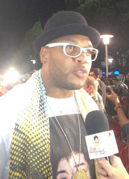 Flo Rida performed his hits at the swanky bash.