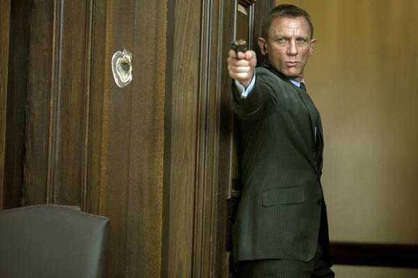 "Daniel Craig stars as James Bond in Metro-Goldwyn-Mayer Pictures/Columbia Pictures/EON Productions action adventure ""Skyfall,"" the latest addition to the James Bond franchise."