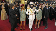 2012 Oscars: Sacha Baron Cohen as 'The Dictator'