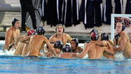 The Newport Harbor High boys' water polo team is excited to start the game against Servite.