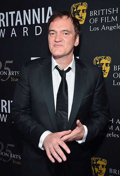 Honoree and director Quentin Tarantino