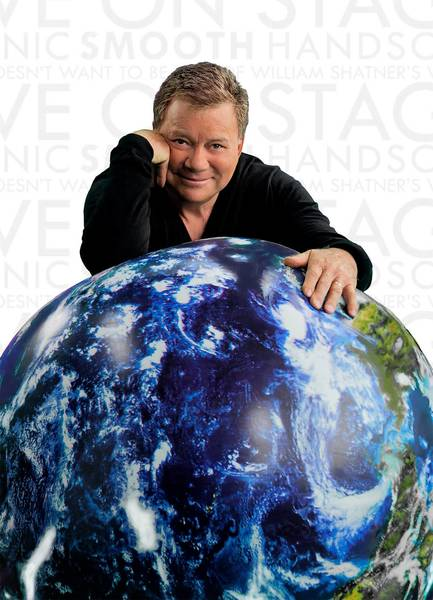 Television and movie legend William Shatner brings his one man show 'Shatner's World: We Just Live In It' to the State Theatre on Nov. 11.