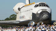 Space shuttle Atlantis last trip
