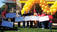 McDonald's contributes to charities