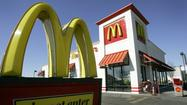 McDonald's monthly sales fall for first time in nine years