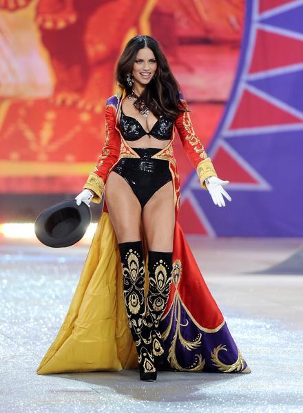 Brazilian model Adriana Lima.