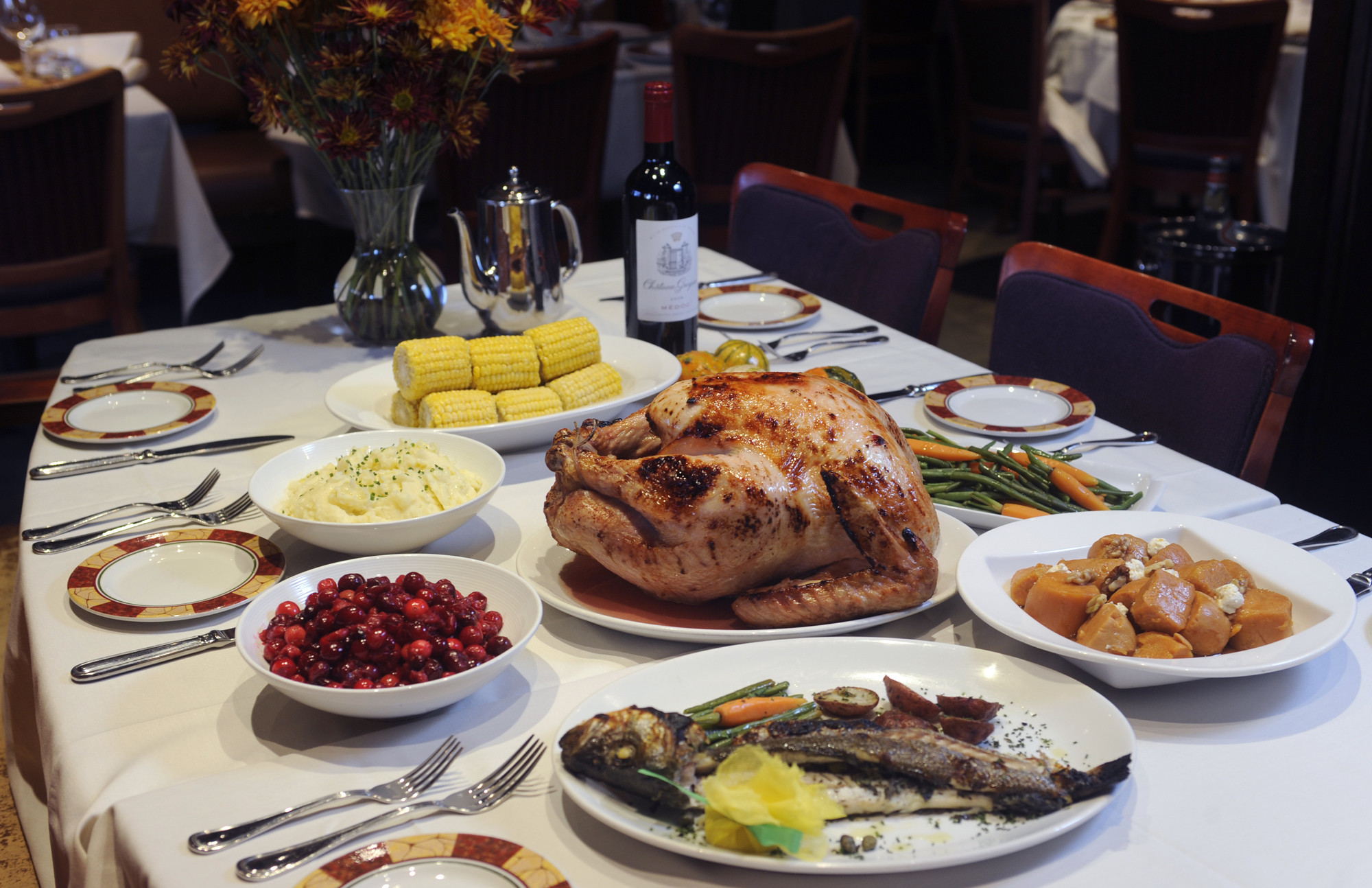 Thanksgiving restaurant dining options in baltimore for What restaurants are open on thanksgiving