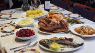 Thanksgiving restaurant dining options in Baltimore