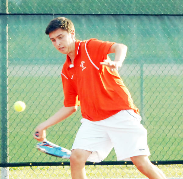Harbor Springs junior Sam Dart earned Michigan High School Tennis Coaches Association All-State first-team honors in Division IV. Dart finished with a 21-3 record this season and advanced to the Division IV state finals.