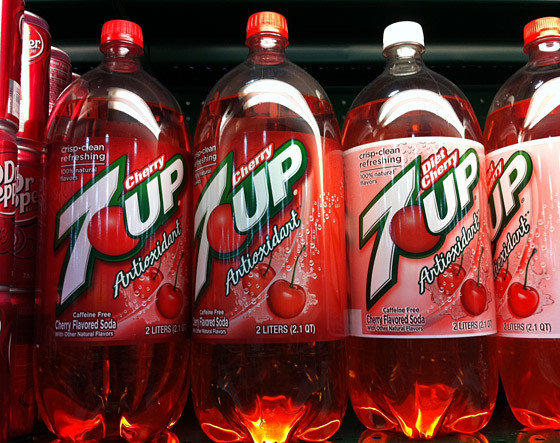 A California man is suing the maker of 7-Up over claims that some varieties of the soda with added antioxidant are good for you.