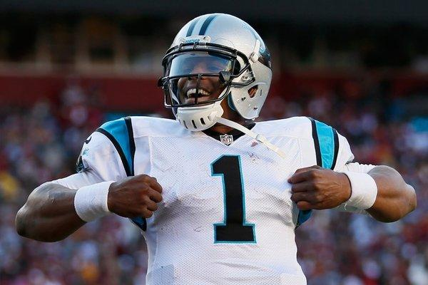 A high school football player was kicked out of a game for imitating Cam Newton's touchdown celebration.