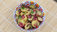 Tailgating recipe: Fingerling potato salad
