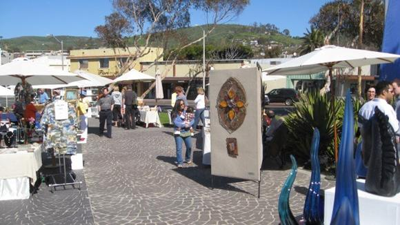The Laguna Craft Guild Art Show will take place from 9 a.m. to sundown Sunday at Main Beach.