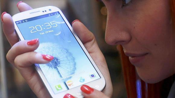 Samsung Galaxy III.