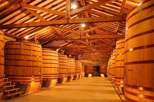 CVNE's cellars in Rioja, Spain.