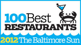 Baltimore's 100 best restaurants 2012
