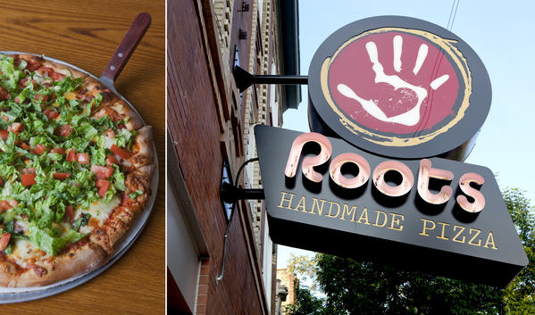 Streeterville's new Local Root (601 N. McClurg Court 312-643-1145) serves counter-service sandwiches by day and classic cocktails by night, all through a locally grown lens.<br><br> <b>Not to be confused with ...</b> Roots Handmade Pizza (pictured, 1924 W. Chicago Ave. 773-645-4949), the Quad Cities-style pizzeria that put down roots in West Town last year.