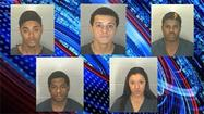 Five Lafayette teens were arrested in connection with a series of strong-arm robberies on the Purdue University campus in late October.