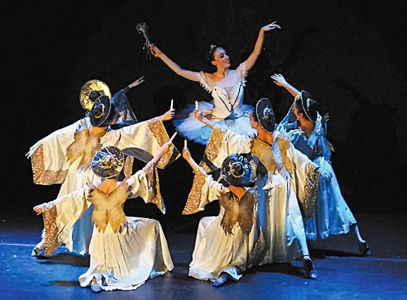 "The Chambersburg Ballet Theatre Company will present ""A Candlelight Nutcracker,"" Sunday, Nov. 11, at The Capitol Center's Wood Center in Chambersburg, Pa."