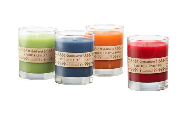 A welcomed gift fit for any person or occasion is a special candle. Holiday candles fall into two categories: decorative and scented. In the scented category, Crate & Barrel has crafted a selection of holiday and every day candles with a long-lasting 40-hour burn time. Priced at $14.95 each, the scents are Juniper Berry, Balsam Cedar, Twilight Vanilla and Harvest Pumpkin. Perfect for adding pizzazz to holiday decor is a beautifully crafted Metallic Bark Candle offered from Pottery Barn. It comes in three sizes and price points: 6-inch high ($12.50), 4.5-inch ($19.50) and 8-inch ($24.50).