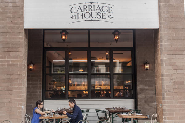 At Carriage House (1700 W. Division St. 773-384-9700) in Wicker Park, chef Mark Steuer salutes his Carolina Lowcountry roots by cooking addictive comfort food in the form of she-crab soup, skillet corn bread and oyster roasts.