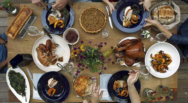 The average cost of the traditional dinner for 10 will be $49.48 this year, up 28 cents from last year, according to the American Farm Bureau Federation.