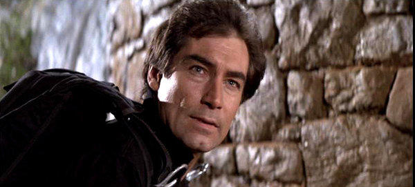 "Timothy Dalton starred as James Bond in 1987's ""The Living Daylights,"" seen here, and 1989's ""Licence to Kill."""