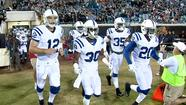 JACKSONVILLE - Who could blame the Colts if they seemed a little uneasy with the notion of being a heavy favorite.