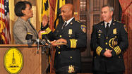Batts formally sworn in as Baltimore police commissioner