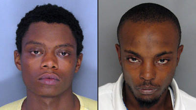 Kenyon Travis Waller, left, and William Justin Campbell are accused of multiple abductions, rapes and robberies.