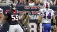 In the April draft, the Bears chose Shea McClellin in the first round and passed over Illinois' Whitney Mercilus.