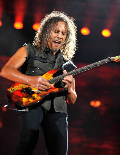 Metallica guitarist Kirk Lee Hammett is 49 today.