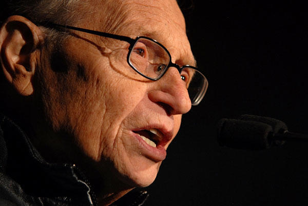 OVERLAND PARK, HELLO! Larry King is 76 today. (Photo by Michael Tullberg/Getty Images for COPE Health Solutions)