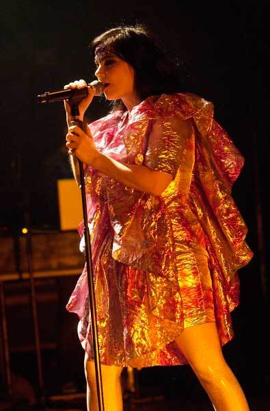 "Icelandic singer <a class=""taxInlineTagLink"" id=""PECLB000527"" title=""Bjork"" href=""/topic/entertainment/music/bjork-PECLB000527.topic"">Bjork</a> celebrates her 45th birthday today."