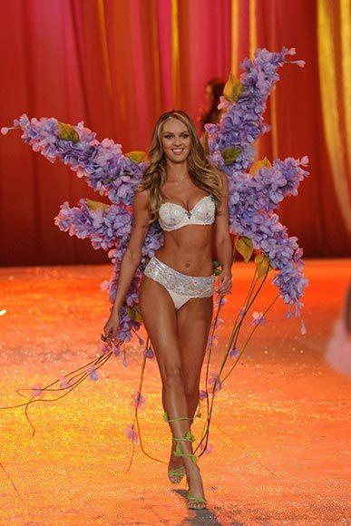 Bedazzled bras and half-clad circus acts: Welcome to the Victoria's Secret fashion show: Candice Swanepoel