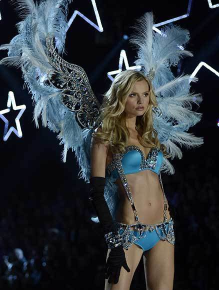 Bedazzled bras and half-clad circus acts: Welcome to the Victoria's Secret fashion show: Magdalena Frackowski