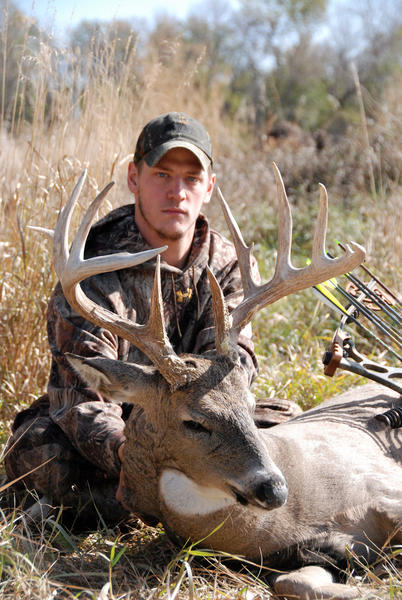 Matt McCranie, a student at South Dakota State University, killed this Brown County buck with a bow. With a little effort and some minor adjustments, trophy deer photos can become part of your successful hunt routine.