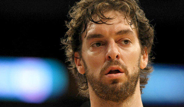 Lakers forward Pau Gasol is seen during the team's regular-season matchup against the Clippers on Nov. 2, 2012.
