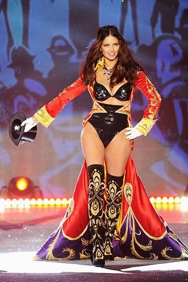 Victoria's Secret Angel Adriana Lima is the ringmaster