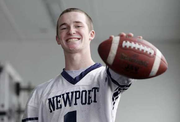 Newport Harbor High junior Quest Truxton is the Daily Pilot High School Football Player of the Week.